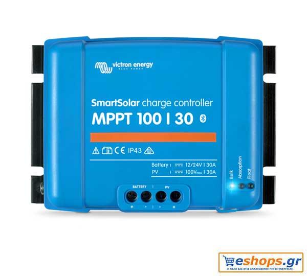 Victron SmartSolar MPPT 100/30 -  30A Ρυθμιστής Φόρτισης Φωτοβολταικών
