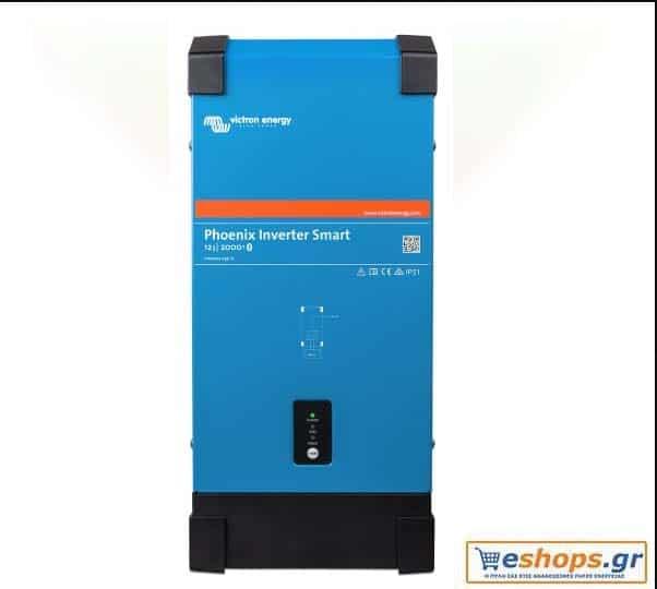 Inverter Καθαρού Ημιτόνου Victron Phoenix 24/3000 Smart 3000VA 24V