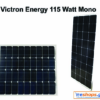 Φωτοβολταϊκό Victron Energy 115W-12V Mono 1015x668×30mm series 4a